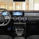 Interior del Mercedes Clase A Sedán