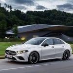 Dinámica Mercedes Clase A Sedán