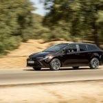 Prueba Toyota Corolla Touring Sports lateral delantera