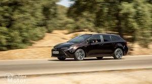 Prueba dinámica Toyota Corolla Touring Sports