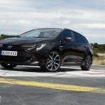 Prueba Toyota Corolla Touring Sports perfil frontal
