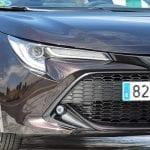 Prueba Toyota Corolla Touring Sports detalle frontal