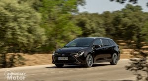 Prueba Toyota Corolla Touring Sports