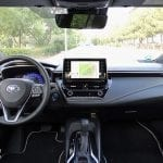 Prueba Toyota Corolla Touring Sports diseño interior