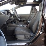 Prueba Toyota Corolla Touring Sports plazas delanteras