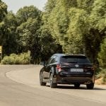 Prueba Toyota Corolla Touring Sports dinámica trasera