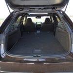 Prueba Toyota Corolla Touring Sports maletero con asientos tumbados