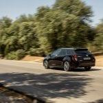 Prueba Toyota Corolla Touring Sports dinámica perfil trasero