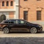 Prueba Toyota Corolla Touring Sports dinámica lateral