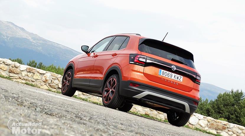 Prueba Volkswagen T-Cross parte trasera