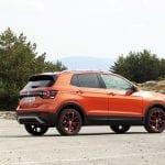 Prueba Volkswagen T-Cross perfil trasero