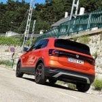 Prueba del Volkswagen T-Cross parte trasera