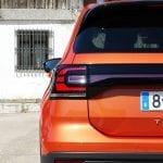 Prueba del Volkswagen T-Cross piloto trasero