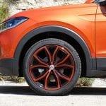 Prueba del Volkswagen T-Cross llantas