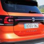 Prueba del Volkswagen T-Cross detalle pilotos