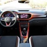 Volkswagen T-Cross diseño interior