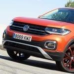 Frontal del Prueba Volkswagen T-Cross