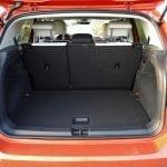 Maletero con asientos adelantados en Volkswagen T-Cross