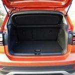 Prueba Volkswagen T-Cross maletero con asientos adelantados