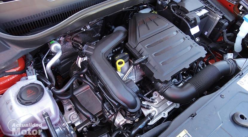 Motor 1.0 TSI 115 CV en T-Cross