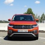 Prueba Volkswagen T-Cross frontal