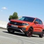 Perfil delantero del Volkswagen T-Cross