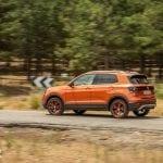 Prueba Volkswagen T-Cross en movimiento