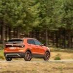 Prueba Volkswagen T-Cross dinámica trasera