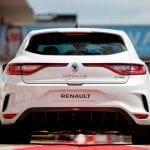 Trasera del Renault Mégane RS Trophy-R