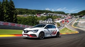 Renault Mégane RS Trophy-R récord en Spa