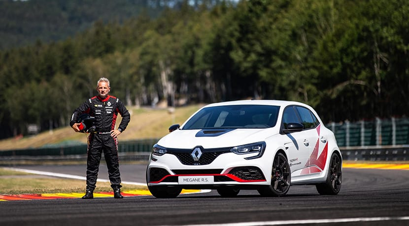 Renault Mégane RS Trophy-R récord en Spa-Francorchamps