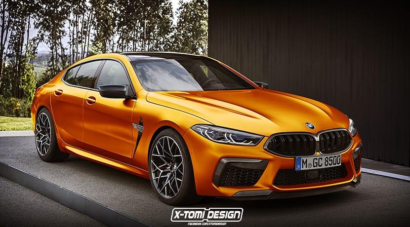 BMW M8 Gran Coupé X-Tomi Design