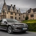 Skoda Superb perfil