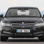 Skoda Superb frontal