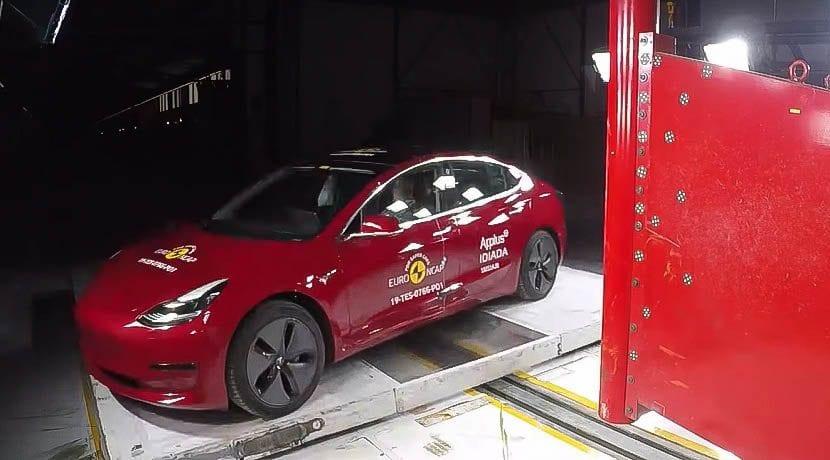 Tesla Model 3 Euro NCAP 2019