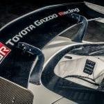 Alerón del Toyota Supra GR GT4