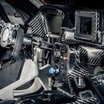 Interior del Toyota Supra GR GT4