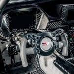 Puesto de conducción del Toyota Supra GR GT4
