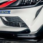 Difusor delantero del Toyota Supra GR GT4