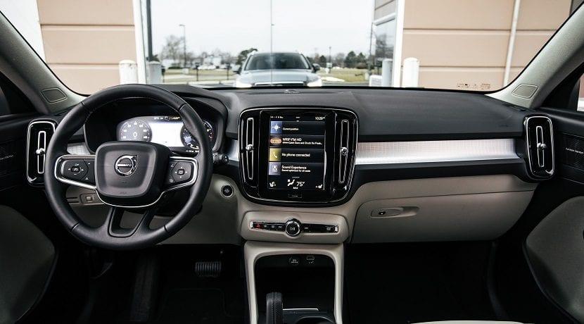 Equipamiento del Volvo XC40