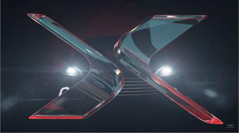 Aston Martin DBX video teaser screen shot
