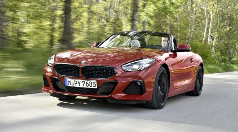BMW Z4 manual shift