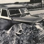 Bentley Corniche Crash 1939