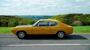 Ford Capri 50th aniversary