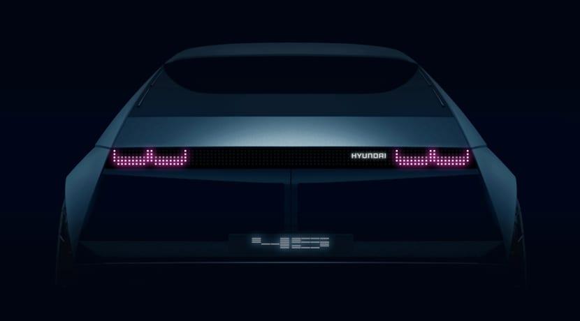 Hyundai 45 Concept Car teaser