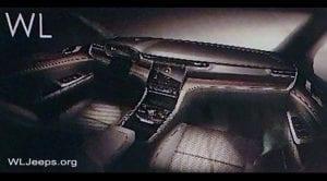 Jeep Grand Cherokee 2021 WL interior filtración