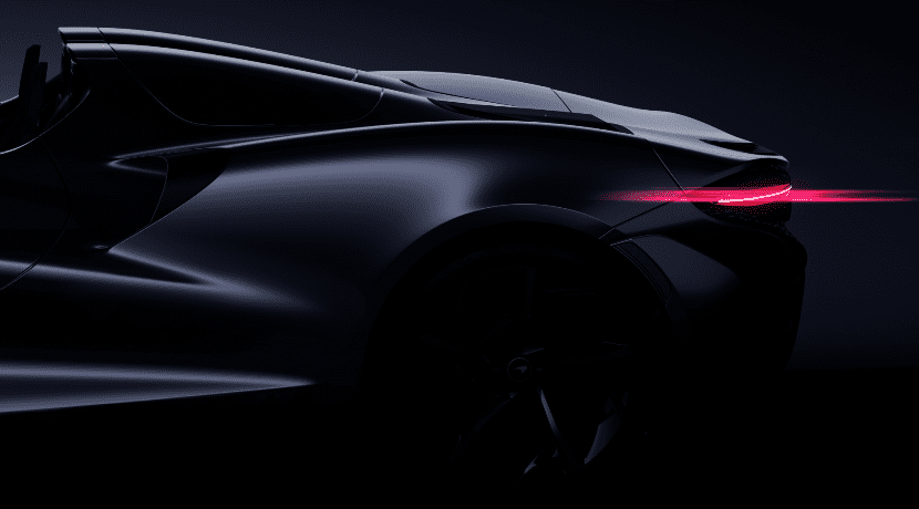 McLaren Speedster teaser
