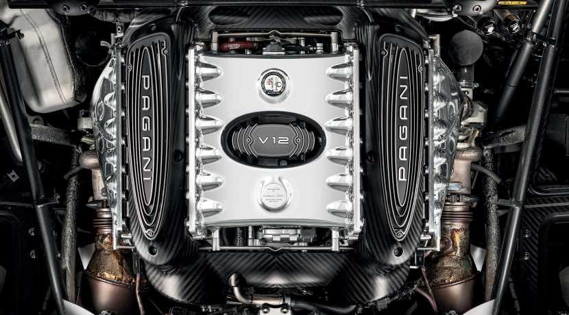 Pagani Huayra AMG Twin-Turbo V12