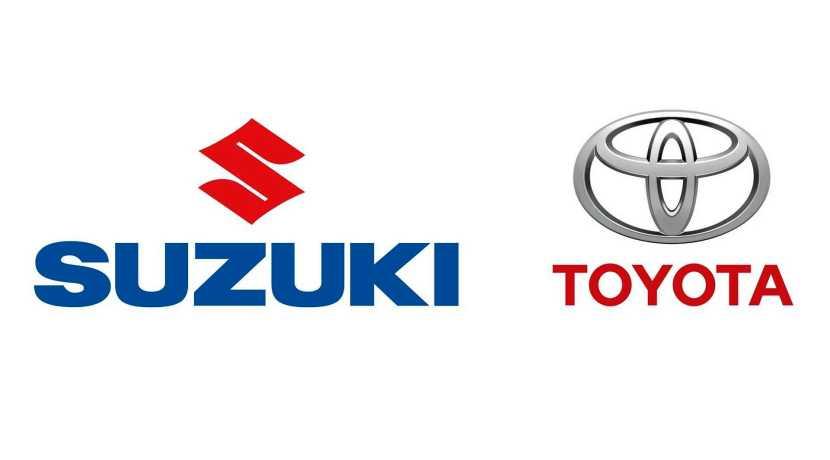 Toyota - Suzuki logos