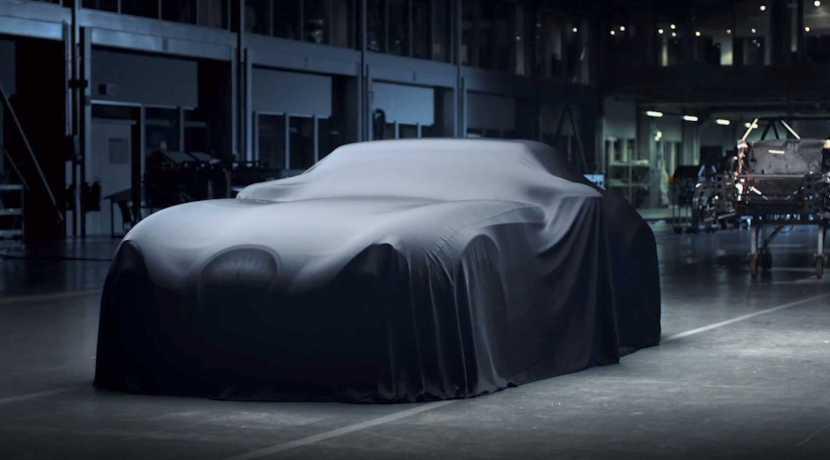 Wiesmann new car teaser